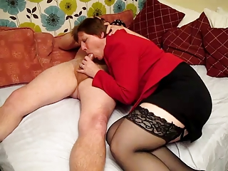 Stockings Blowjob BBW Bbw Blowjob Bbw Mom Old And Young