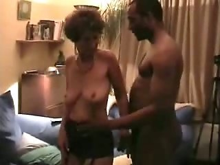 Mature mom gets the BBc