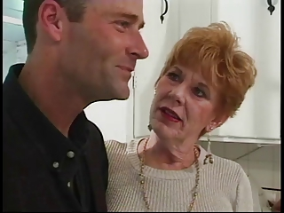 Pornstar Redhead Kitchen Granny Young Old And Young