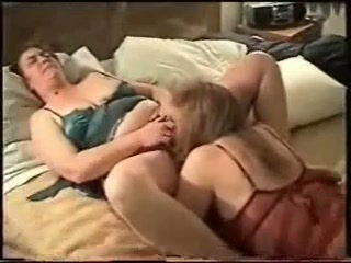 My wife licking pussy of our old neighbor. Amateur homemade