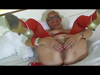 Pussy Glasses Stockings Granny Pussy Granny Stockings Lingerie