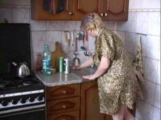 Russian Homemade Kitchen Amateur Russian Amateur