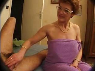 HORNY HAIRY FRENCH MOM RAVAGED BY HER   SONS