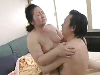 Japanese Asian Chubby Old And Young