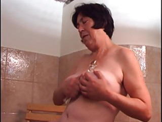Showers Toy Dildo Granny Hairy Hairy Granny