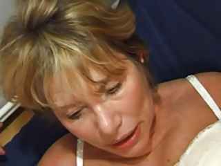 French European Mom Anal Mature Anal Mom Blonde Anal