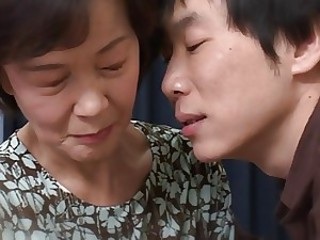 Japanese Mom Asian Old And Young