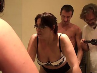 Porn maiden AMBER: str8 up her arse, no lube