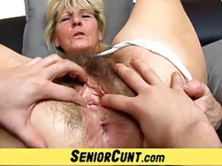 Close up Hairy Pussy Czech Granny Hairy Granny Pussy