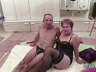 Older Stockings Wife European German German Granny