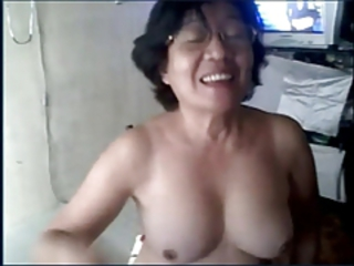 Asian Glasses Webcam Webcam Asian