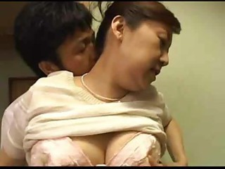 Japanese Asian Mom Lingerie Old And Young