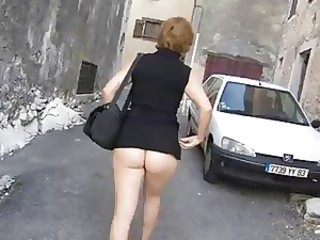 Mom Ass Public Mother Outdoor Public