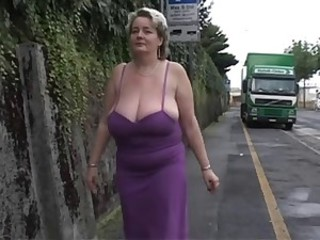 Public Big Tits Natural Bbw Mature Bbw Tits Big Tits