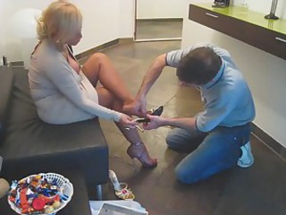 Fetish Feet Mom Old And Young