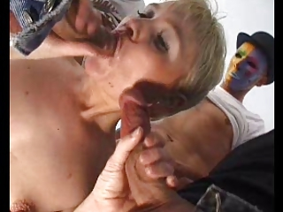 Gangbang French European Anal Mature Anal Mom Blonde Anal