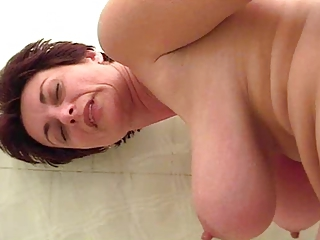 Natural Mom Saggytits Bathroom Bathroom Mom Bathroom Tits