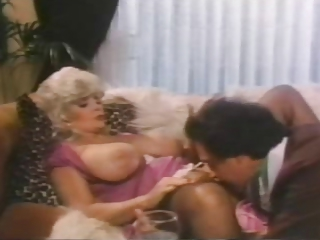 Vintage Clothed Licking Big Tits