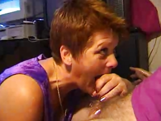 amateur cocksucker mom facial and swallow