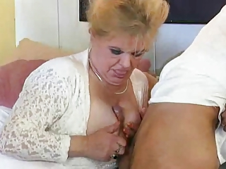Tits Job German Mom European German German Mom