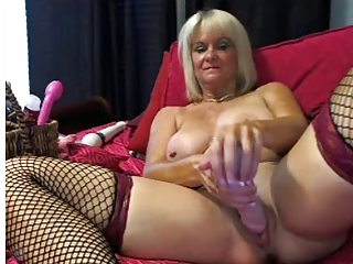 Fishnet Solo Masturbating Fishnet Masturbating Mom Masturbating Toy