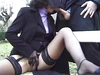 Public Clothed Outdoor Blowjob Mature Mature Blowjob Mature Stockings