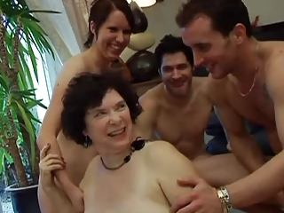 French Groupsex Mom European French Old And Young