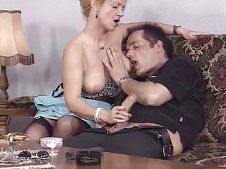 Handjob German European Aunt European German