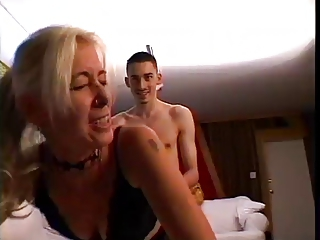 Piercing Old And Young Mom Blonde Mature Blonde Mom Hardcore Mature