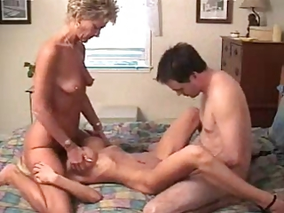 Family Skinny Threesome Amateur Family Old And Young