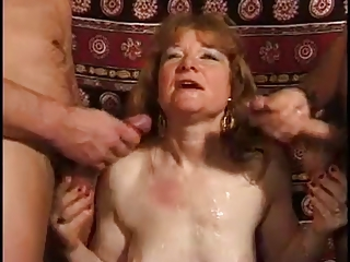 Cumshot French Threesome Cumshot Ass Cumshot Mature European