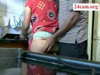 Kitchen Indian Wife Amateur Aunt Aunty