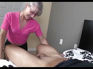good boy love mommy handjob compil