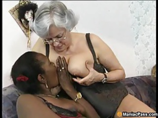 Lesbian Licking Interracial Ass Licking Ebony Ass Glasses Mature
