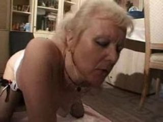 Masturbating French European European French Granny Blonde