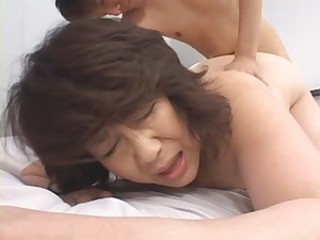 aged japanese mamma acquires fucked!