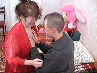 Russian Mama And Boyish man 085