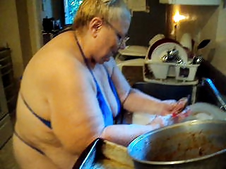 Bikini Kitchen BBW Amateur Bbw Amateur Bbw Wife