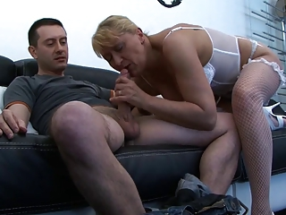 French Mom Old And Young Blowjob Mature Dirty European