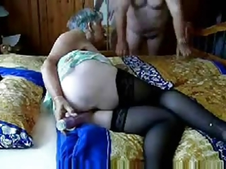 Older Dildo Masturbating Amateur Homemade Wife Masturbating Amateur