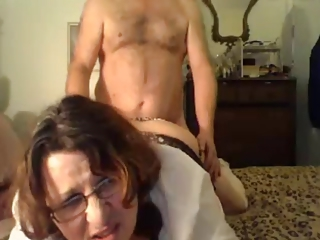 Mature couples sex in front of webcam! Amateur!