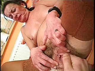 Clit Close up Hairy Pussy Fisting