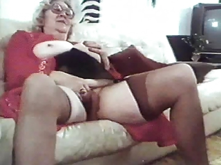 Vintage Masturbating Mom Masturbating Mom Stockings