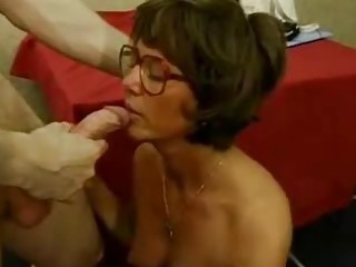 Teacher French Glasses Ass Big Cock Big Cock Blowjob Big Cock Mature