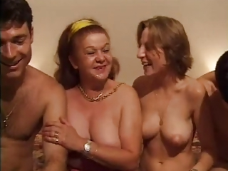 FRENCH CASTING 26 anal mature and young babe with 2 men