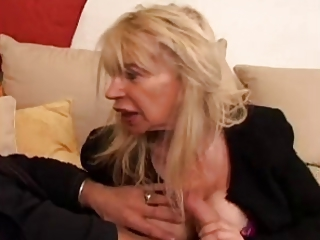 Handjob French Blonde Blonde Mature Blonde Mom European