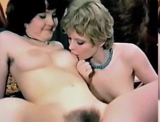 Vintage Hairy Babes Get Hammered By Bbc
