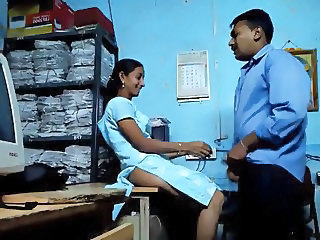 Indian Office Voyeur