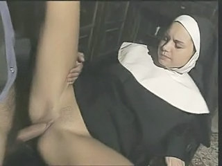 Clothed MILF Nun