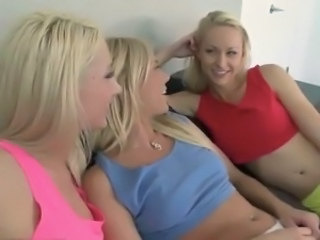 3 Blondes inside Socks Give the Rimjob And Finger pinks